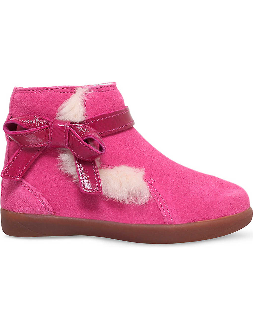 1cf553e0fb1 UGG - Libbie bow-detail suede boots 2-5 years | Selfridges.com