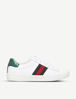 GUCCI New ace leather trainers 4-8 years