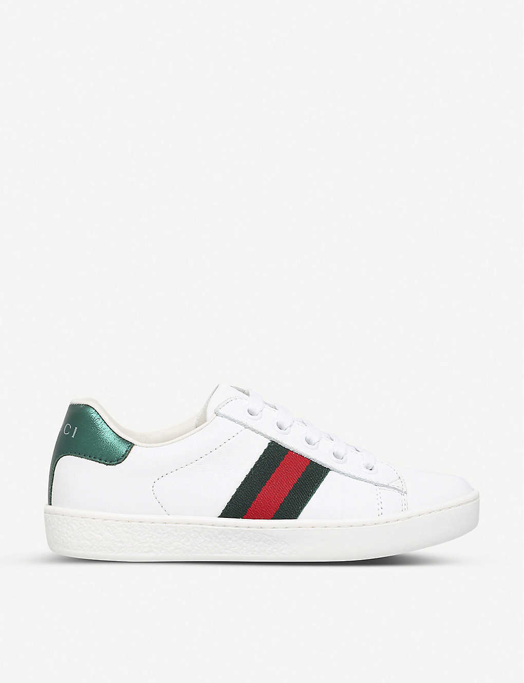 GUCCI: New ace leather trainers 4-8 years