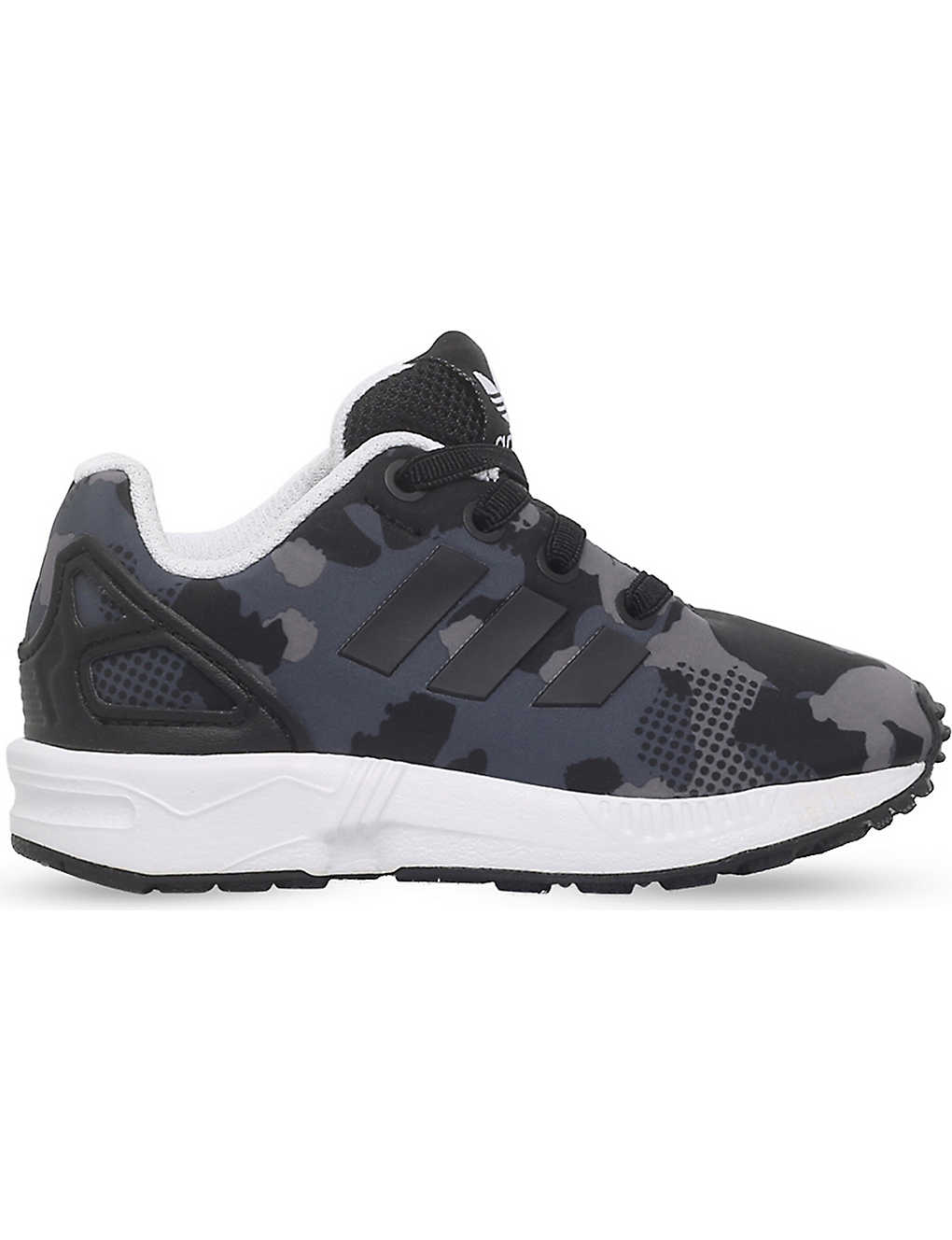 los angeles 3d47e 01be8 ADIDAS - Zx flux camo-print neoprene trainers 6 months - 5 ...