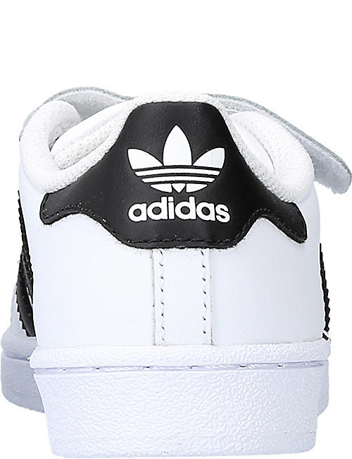 ADIDAS Superstar leather trainers 4-7 years