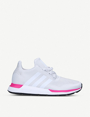 ADIDAS Swift Run J knitted trainers 9-10 years