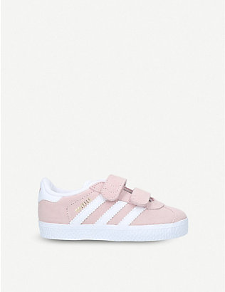 ADIDAS: Gazelle suede trainers 1-5 years