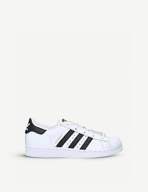 ADIDAS Superstar leather trainers 4-9 years