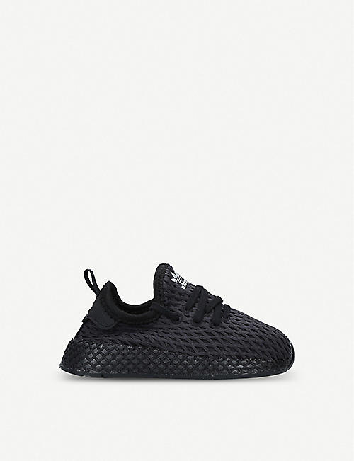 ADIDAS Deerupt webbed-mesh and leather trainers 1-5 years