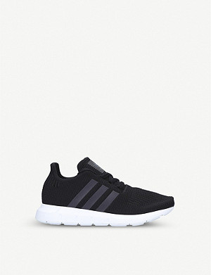 ADIDAS Swift Run J knitted trainers