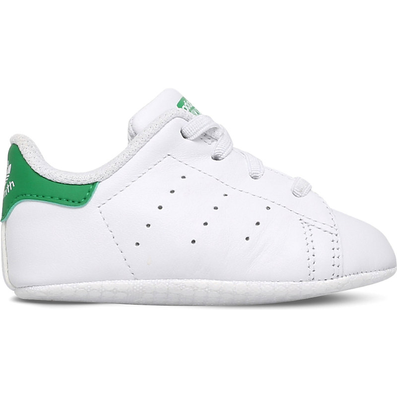 ADIDAS | Adidas Stan Smith Leather Trainers 0 Months-2 Years, Size: EUR 19 / 3 UK KIDS, White/Oth | Goxip