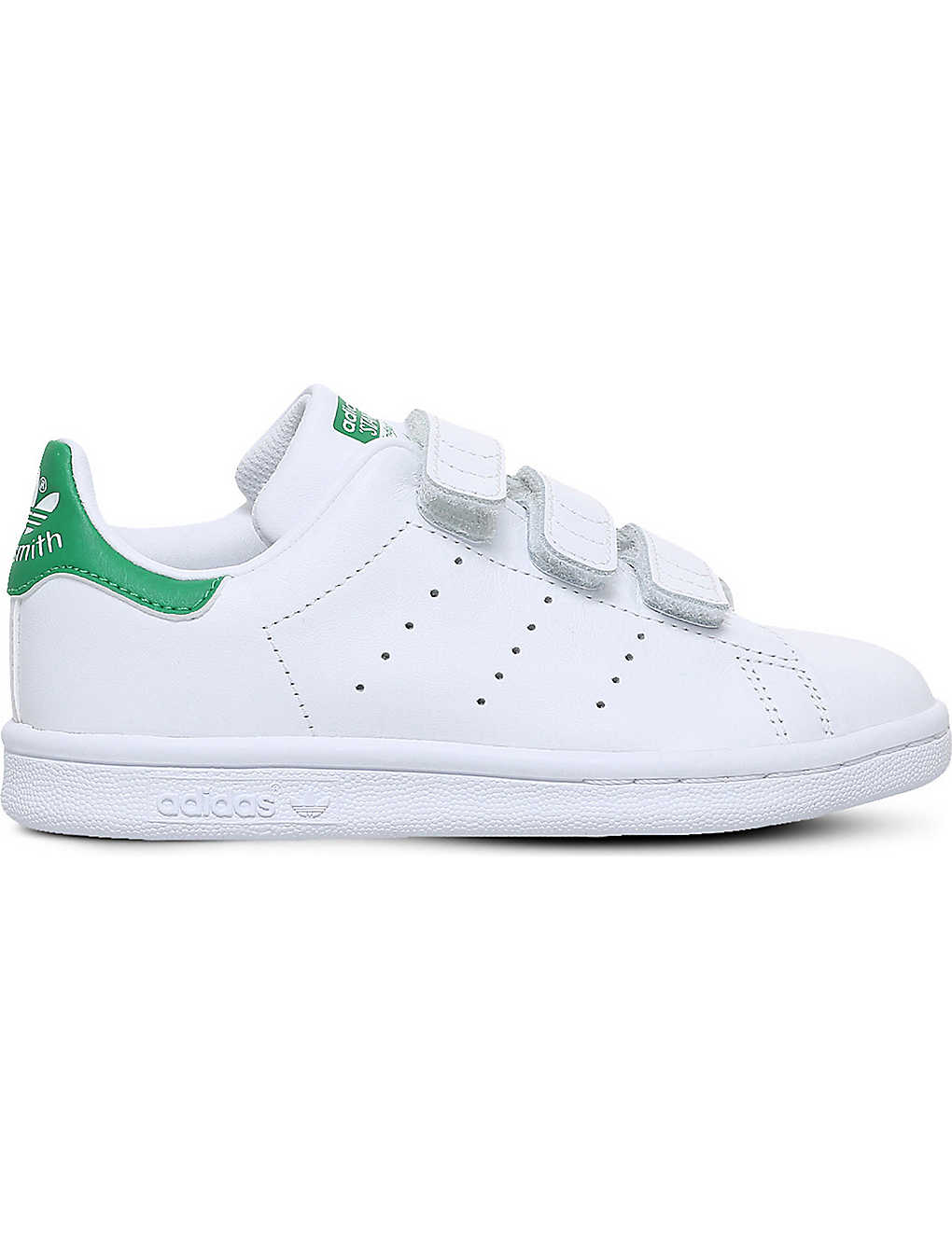 ADIDAS: Stan Smith leather trainers 4-9 years