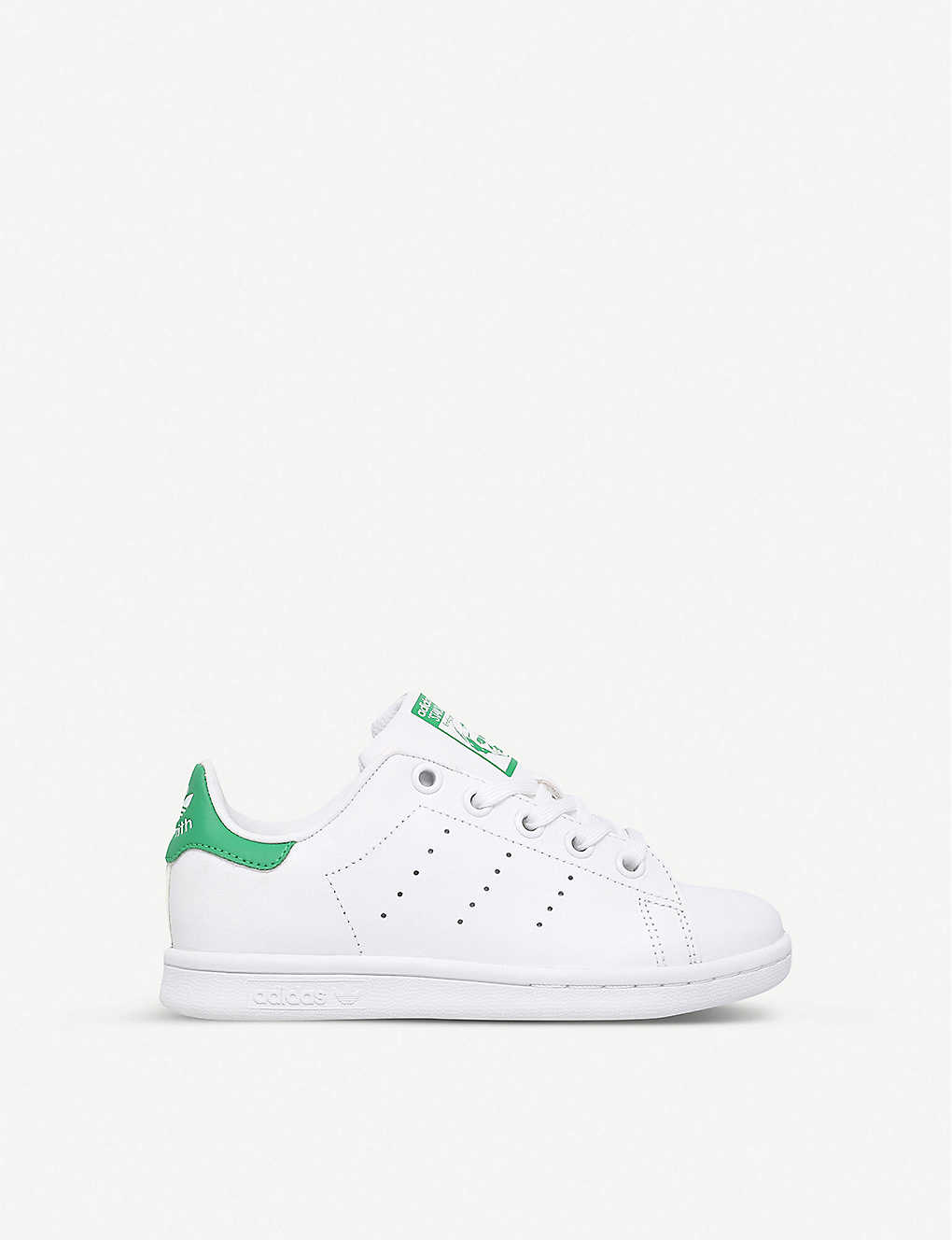 ADIDAS: Stan Smith leather trainers 5-9 years