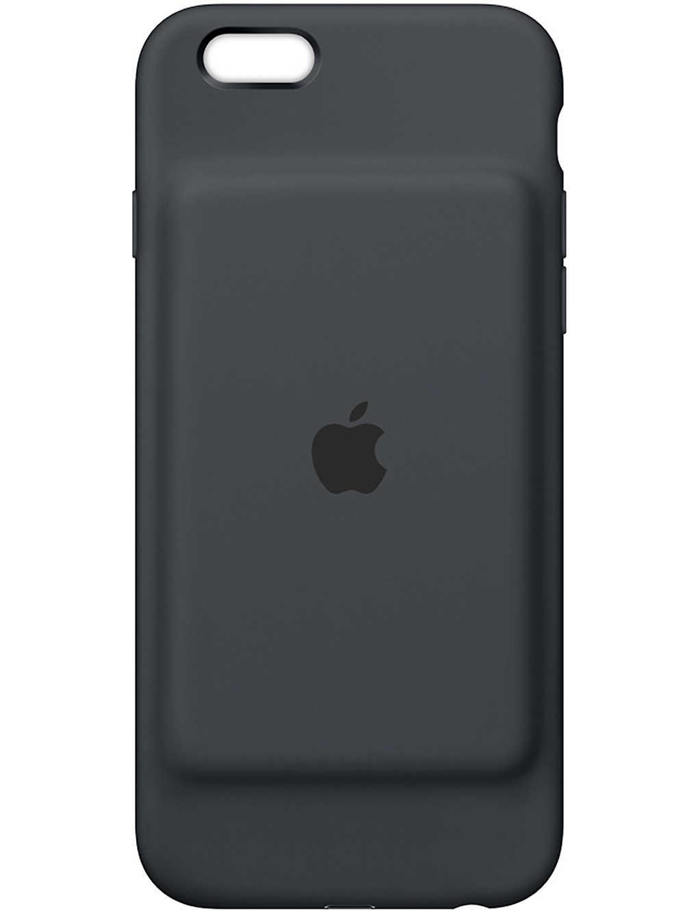 b80dff482 APPLE - iPhone 6/6s smart battery case charcoal grey | Selfridges.com