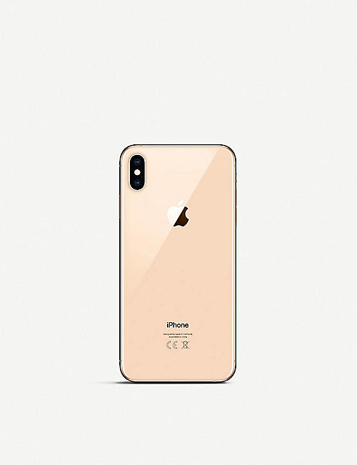 Apple Iphone Xs Max 512gb Gold Selfridgescom