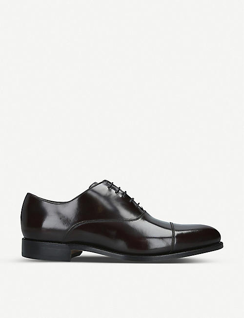BARKER: Windsford leather oxford shoes