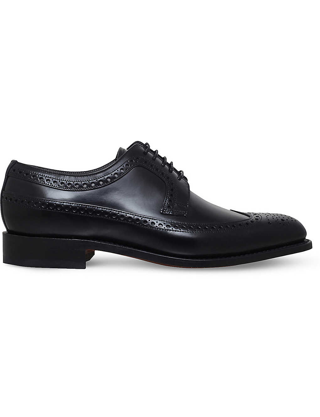 BARKER: Woodbridge leather derby shoes