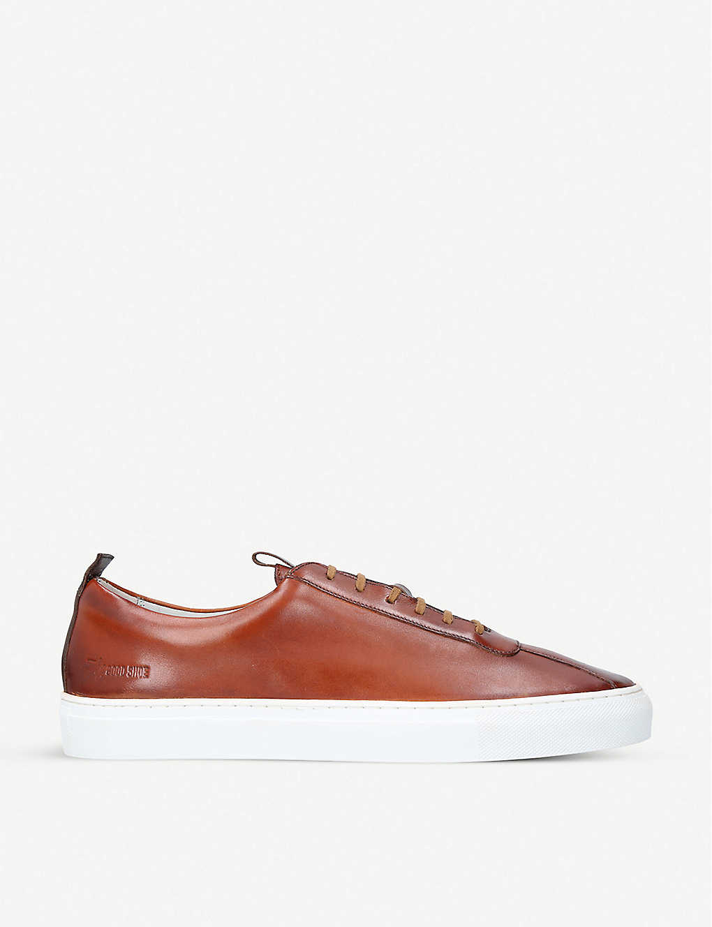 GRENSON: Sneaker 1 leather tennis trainers