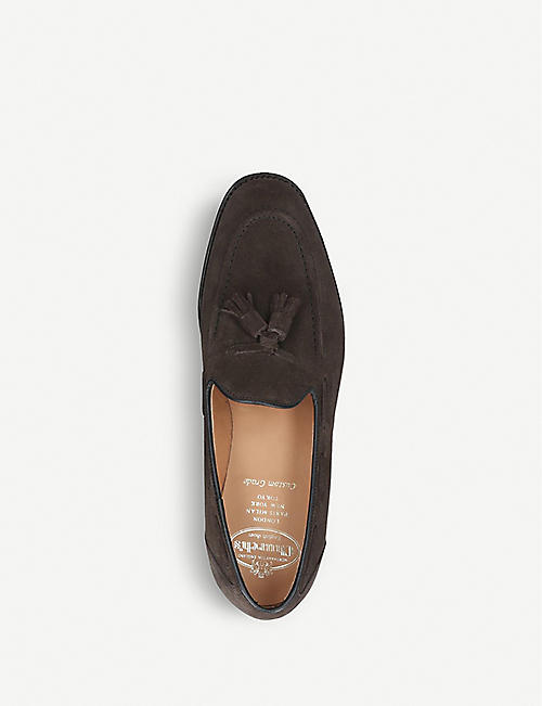 CHURCH Kingsley 2 tassel suede loafers