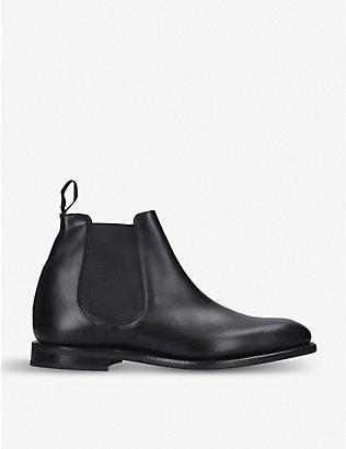 CHURCH: Prenton leather Chelsea boots