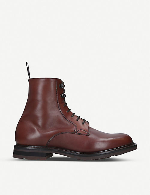 CHURCH Wootton leather lace-up boots