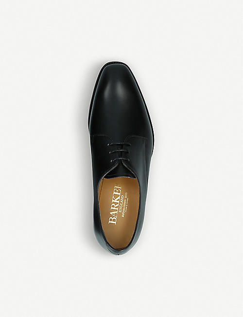 BARKER St. Austell leather derby shoes