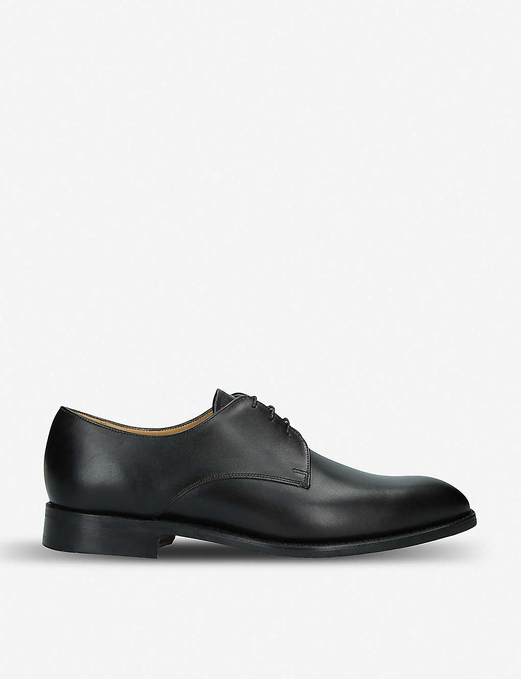BARKER: St. Austell leather derby shoes