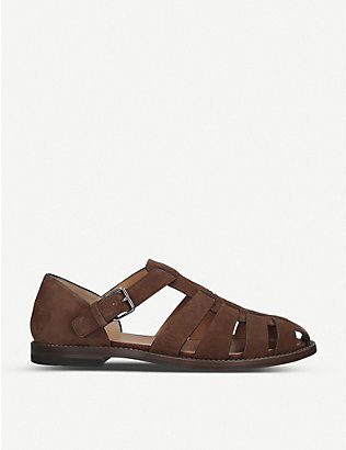 CHURCH: Fisherman suede sandals