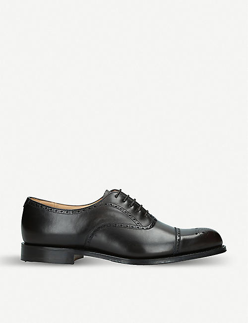 e1d56a0bc0 CHURCH Weymouth brogue-detailed leather Oxford shoes