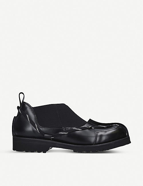 GRENSON x CRAIG GREEN leather Chelsea boots