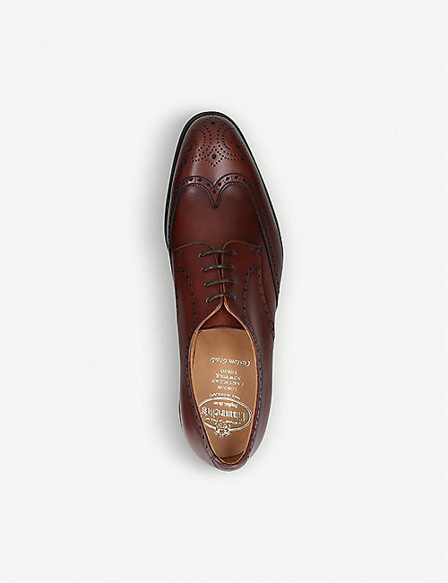 CHURCH Cartworth brogue leather derby shoes