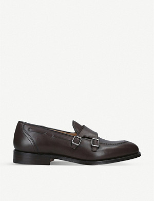CHURCH Clatford leather double monk shoes