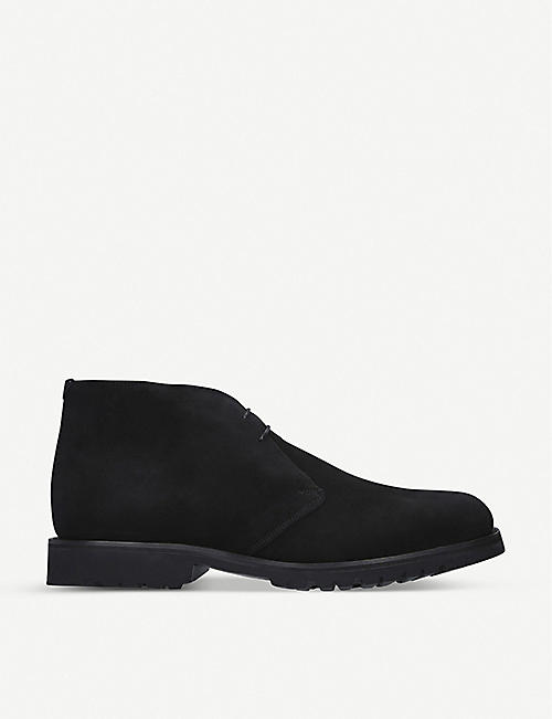 BARKER Connor suede chukka boots