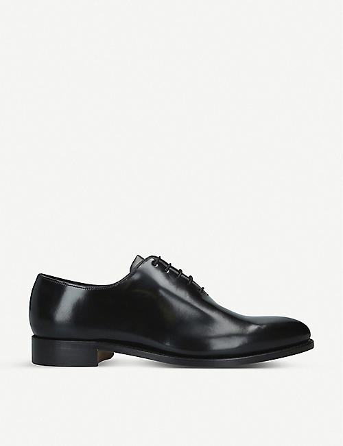 BARKER Nelson leather Oxford shoes