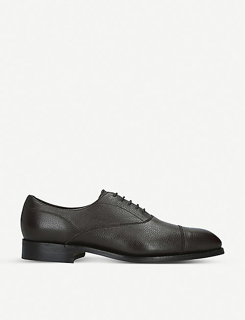 BARKER Newton leather Oxfords