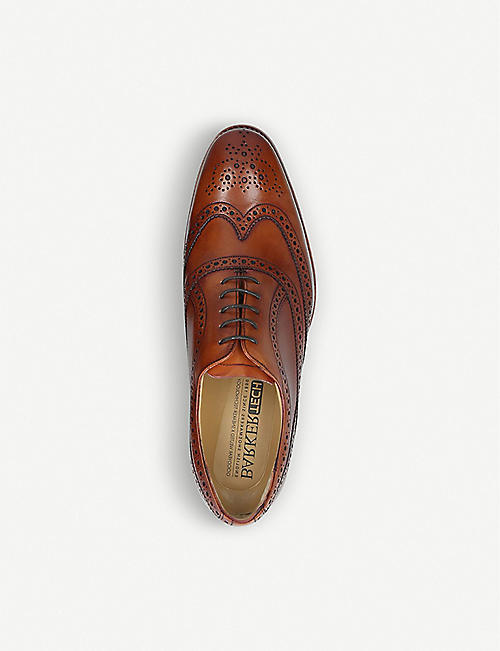 BARKER Turing wingcap leather Oxford brogues
