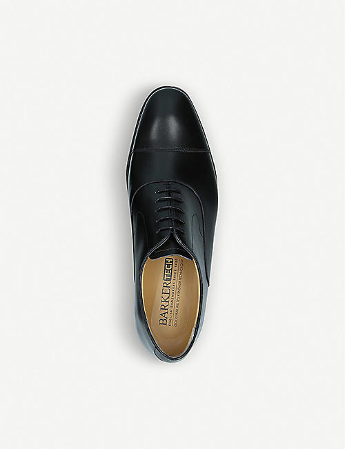 BARKER Wright leather Oxford shoes