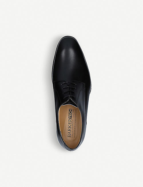 BARKER Elon tech leather derby shoes