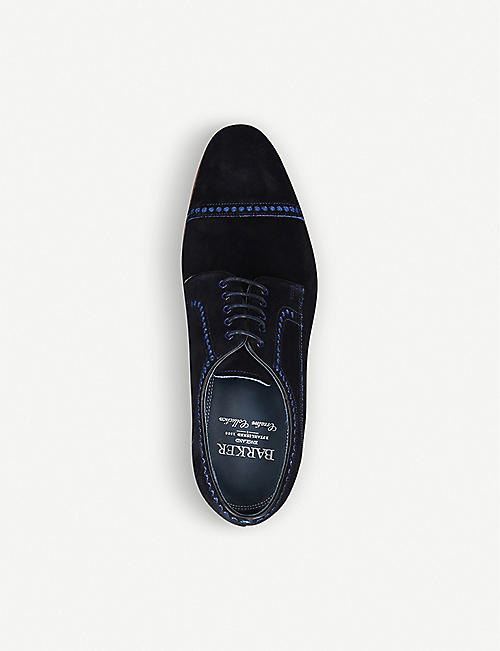 BARKER Marvin leather derby shoes