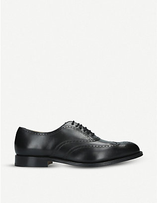 CHURCH: Berlin leather Oxford shoes