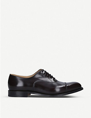 CHURCH: Dubai leather Oxford shoes