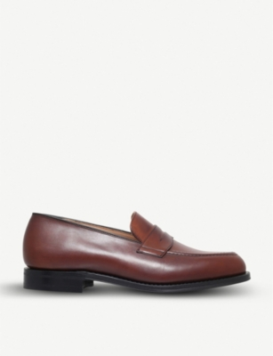 CHURCH Netton leather penny loafers