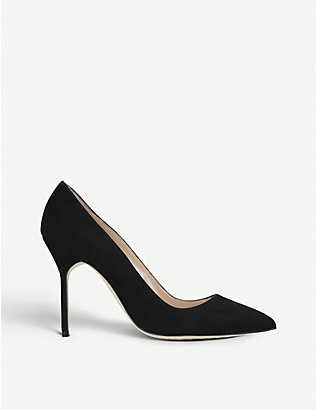 MANOLO BLAHNIK: BB 105 suede courts