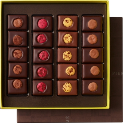 PIERRE HERME Chocolats au macaron assortment box of 20