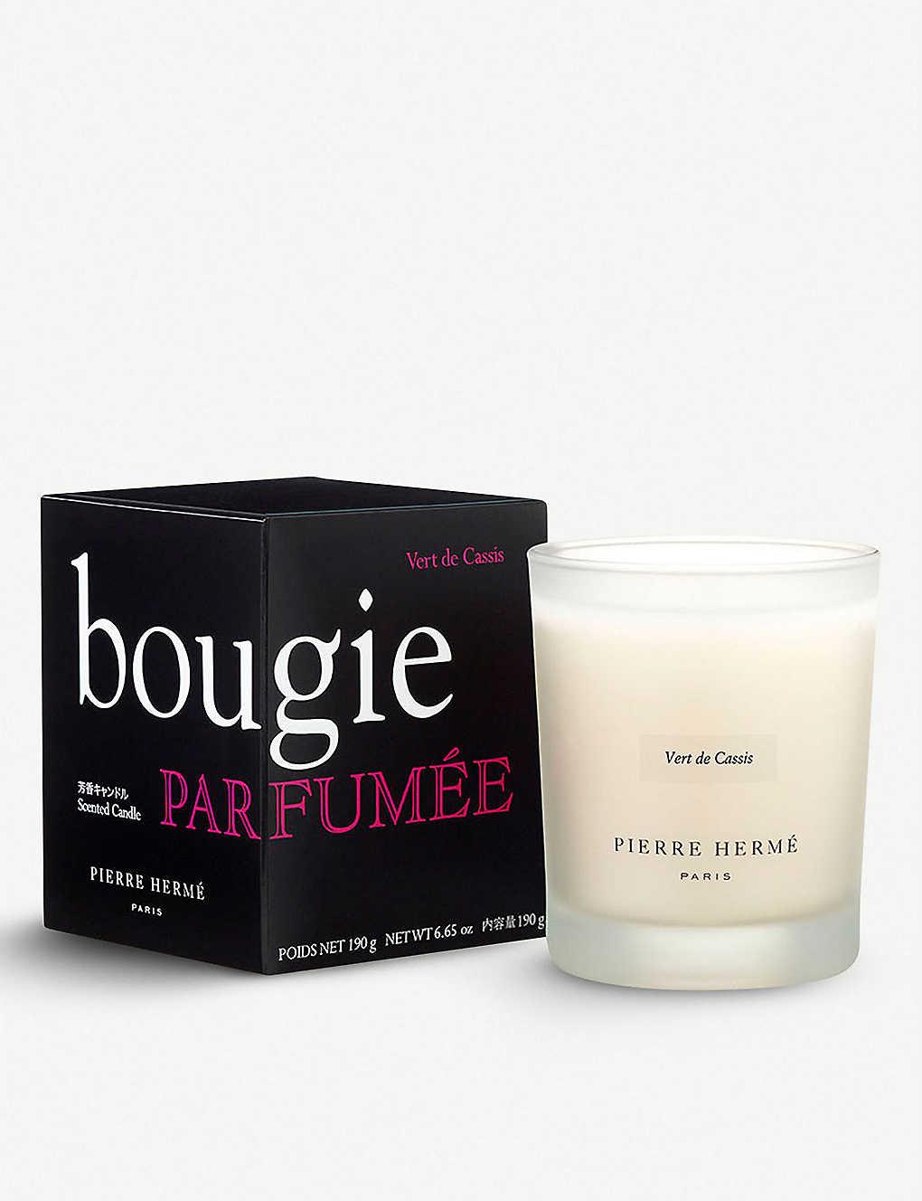 Vert de Cassis scented candle