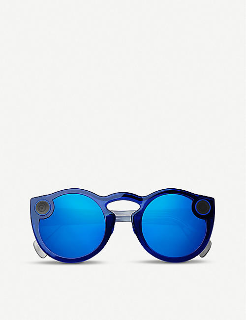 SPECTACLES Snap Inc. sunglasses with built-in camera