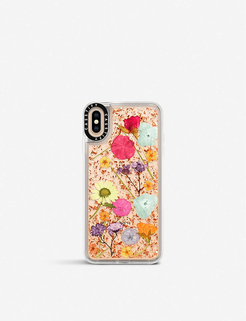 quality design 07461 28aa2 SMARTECH - Pressed Wildflowers iPhone Xs Max case | Selfridges.com