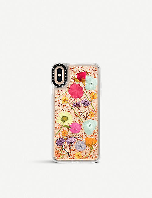 SMARTECH: Pressed Wildflowers iPhone Xs Max case