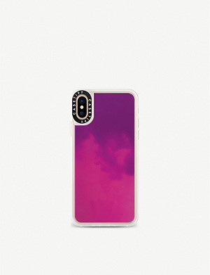 SMARTECH Casetify Neon Sand iPhone XS case