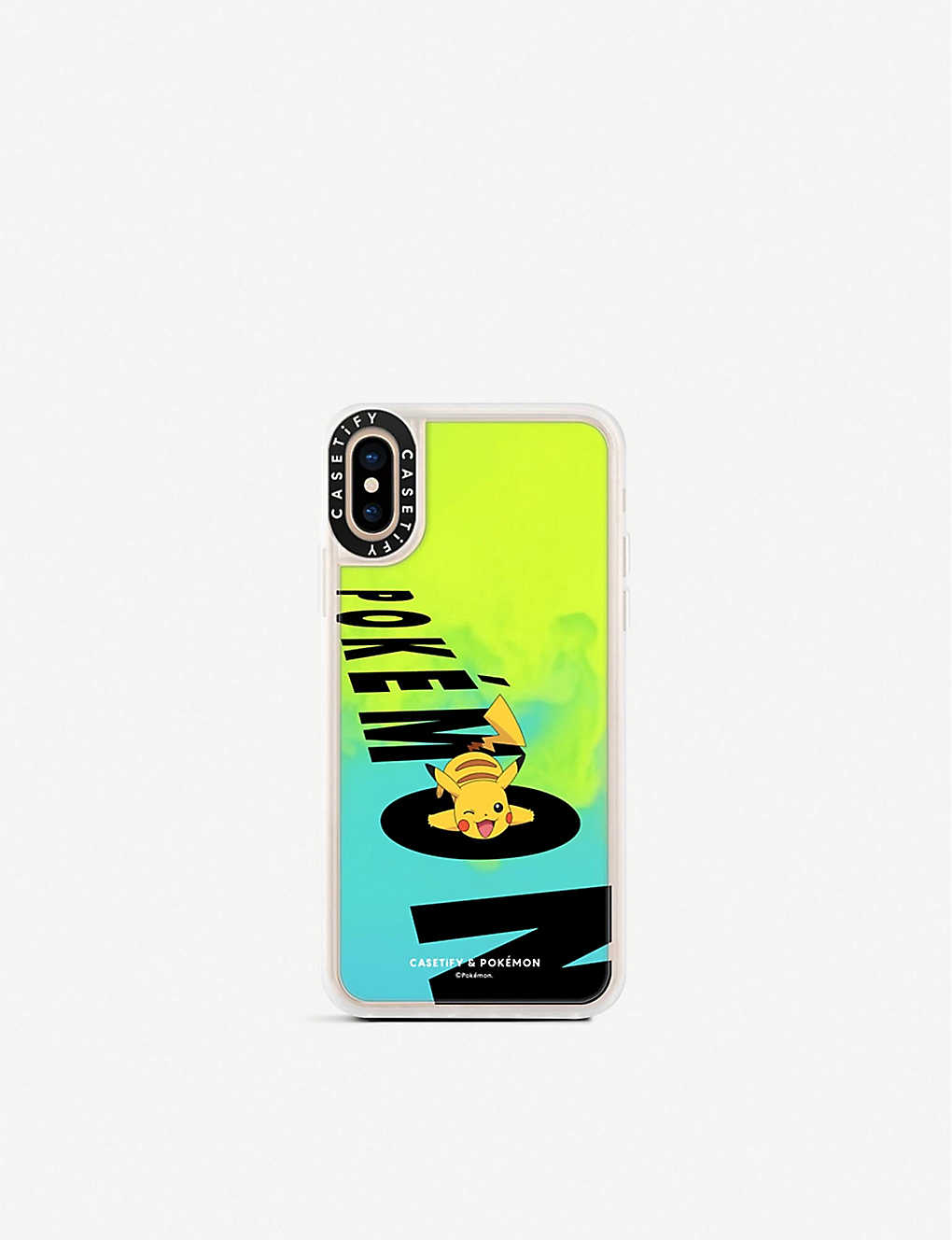 purchase cheap 5df4c 9fa30 Casetify Neon Sand Pikachu impact-resistant iPhone Xs case