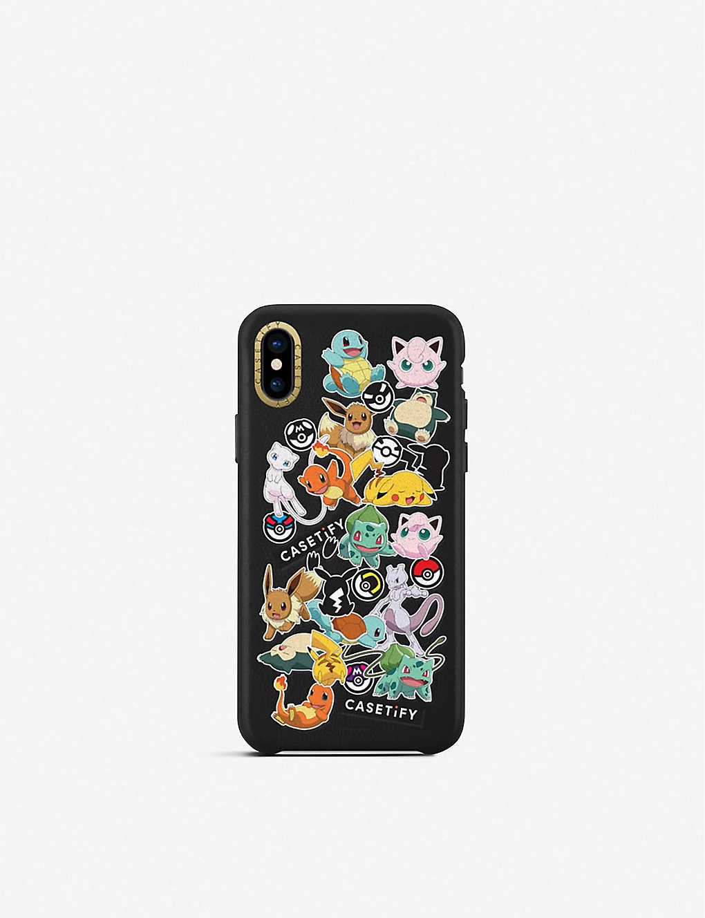 size 40 c0175 53726 SMARTECH - Casetify Pokemon leather iPhone Xs case | Selfridges.com