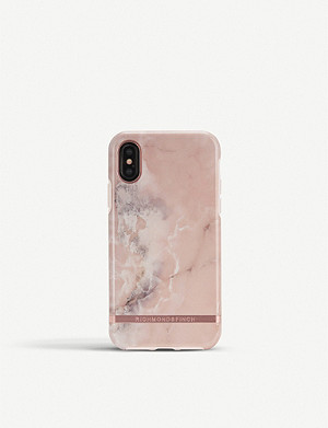 SMARTECH iPhone pink marble case