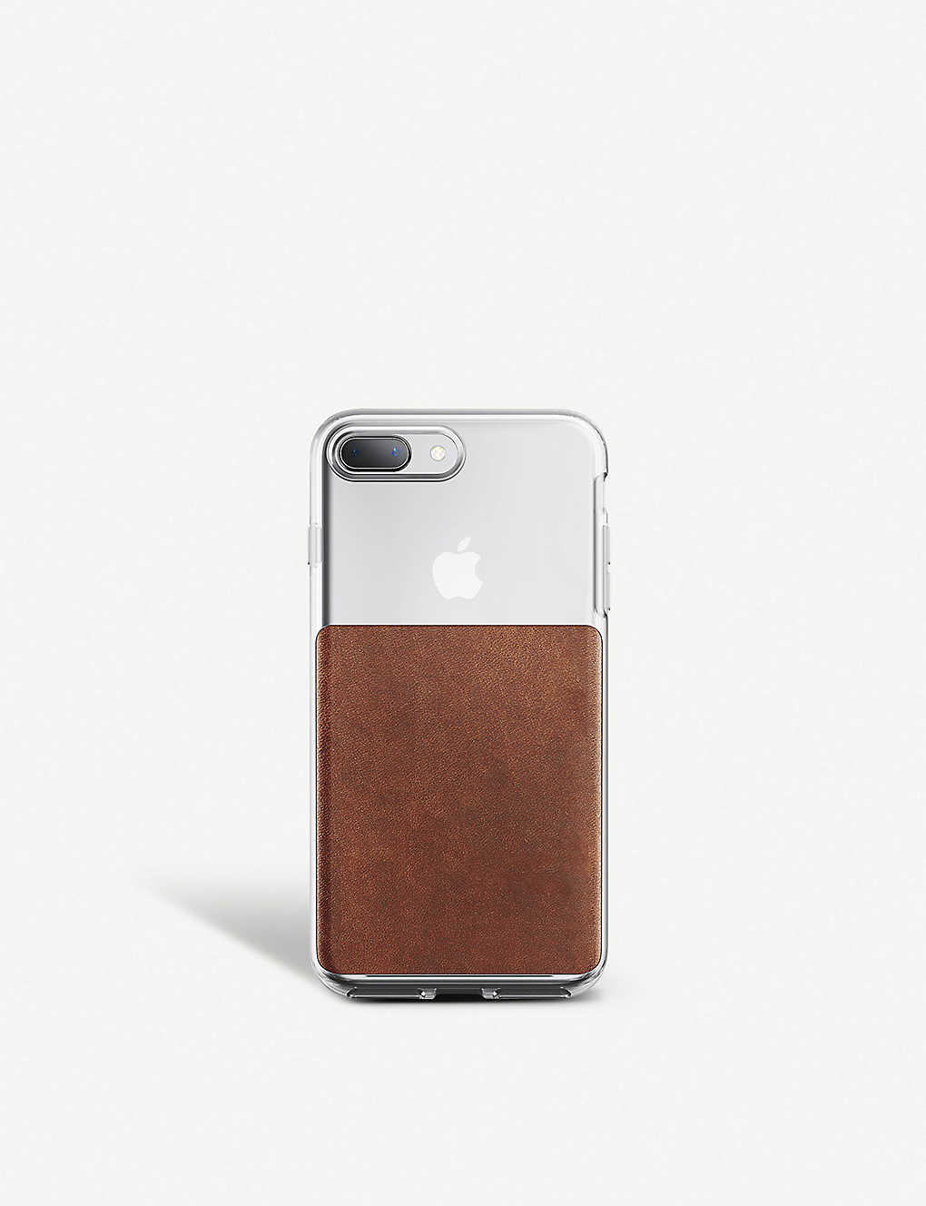 release date: 844f3 de504 SMARTECH - Nomad Cases clear and leather iPhone 8/7 Plus case ...