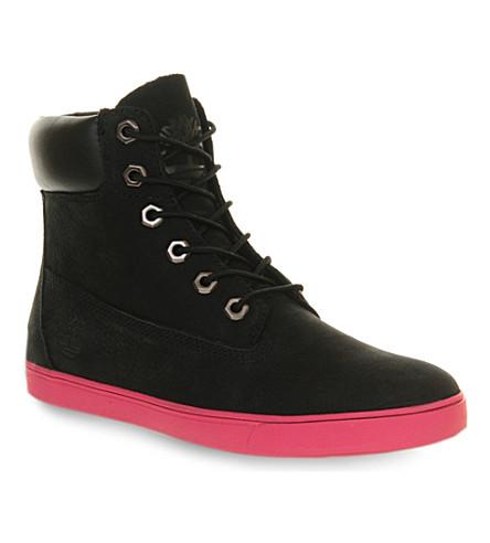 1af040e2fe2b TIMBERLAND Deering leather boots (Black+deering